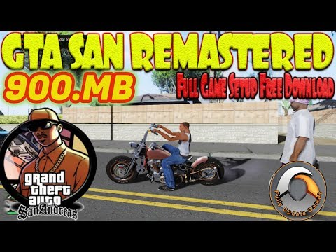 GTA San Andreas Remastered 4k Download Install And Gameplay