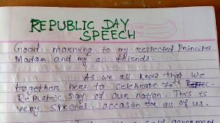 Republic day Speech videos, Republic day Speech clips