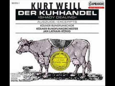 Kurt Weill - Robert Vambery - Der Kuhhandel.wmv