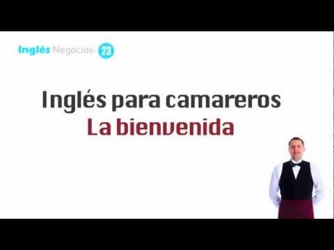 Inglés Para Camareros Dar La Bienvenida