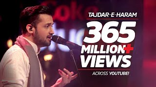 Atif Aslam, Tajdar-e-Haram, Coke Studio Season 8, Episode 1.(Atif Aslam, Tajdar- e -Haram, Coke Studio Season 8, Episode 1. #CokeStudio8 A tribute to Sabri Brothers Produced by Strings., 2015-08-15T16:02:18.000Z)