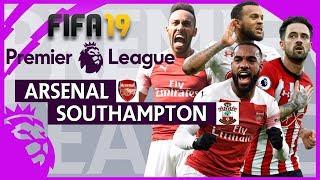 Arsenal vs Southampton   FIFA 19 Premier League Gameweek 27 Highlights