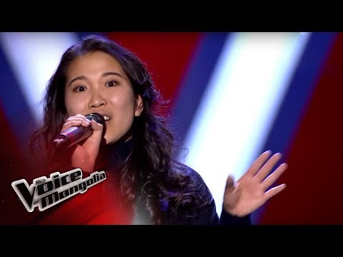 "Byambahishig.D - ""It's A Man's Man's Man's World"" - Blind Audition - The Voice of Mongolia 2018"