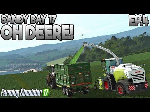 Sandy Bay 17 - Farming Simulator 17 -  Ep.4 (with Wheel Cam)