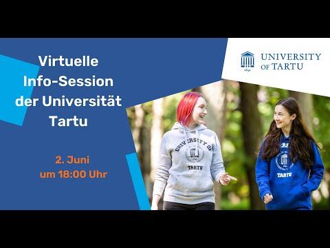 Virtuelle Info Session der Universität Tartu 2021