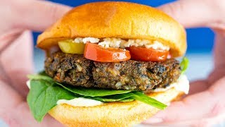 The Best Homemade Veggie Burger Recipe  Better Than Store-bought