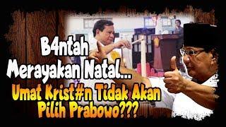 Gerindra Ban tah Prabowo Merayakan Natal, Umat Kristen Tidak Akan Pi lih Prabowo