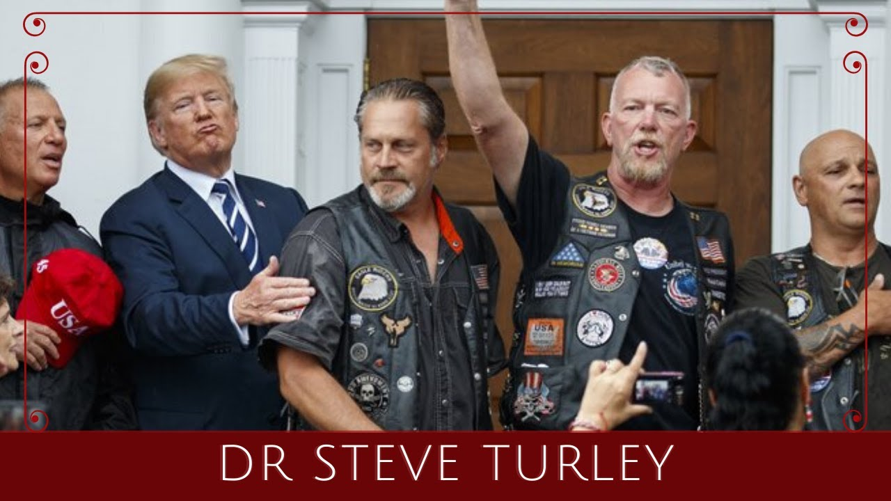 BIKERS FOR TRUMP to 'RETAKE' Antifastan as ARMED MEN Guard Statues Across US!!!