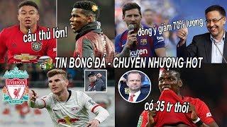 💥Tin bóng đá 31/03|S.ỐC Pogba giá 35tr? Barca đồng ý giảm 70% lương, Pogba khen Lingard CẦU THỦ LỚN