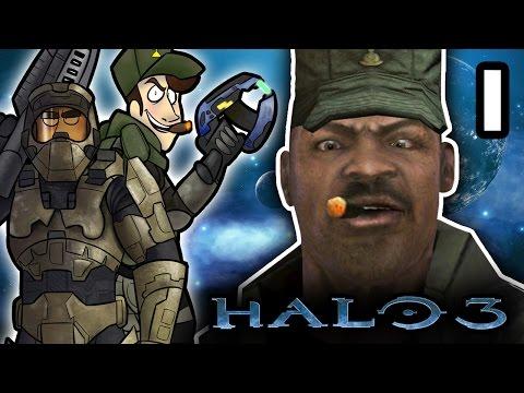 Halo 3 - EP 1: Saving Private Johnson   SuperMega