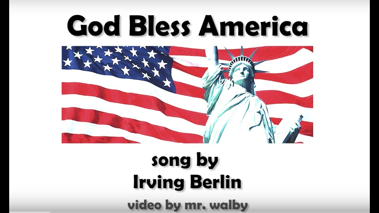 photograph regarding Free Printable God Bless America Sheet Music referred to as God Bless The united states with lyrics and notes by means of ~Visible Musical Minds~
