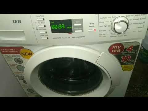 Washing machine cleaning process - IFB Descal process - Fully automatic front load machine cleaning