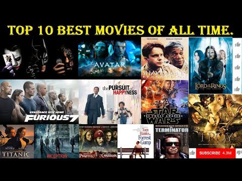 My Top 10 Favorite Movies Of All Time Best Movies Ever