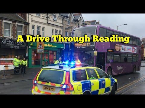 Driving around Reading , Berkshire