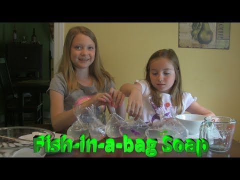 DIY Fish In A Bag Soap - This One Worked!
