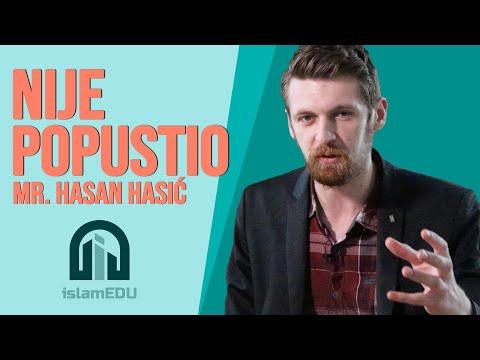 MR. HASAN HASIĆ: NIJE POPUSTIO