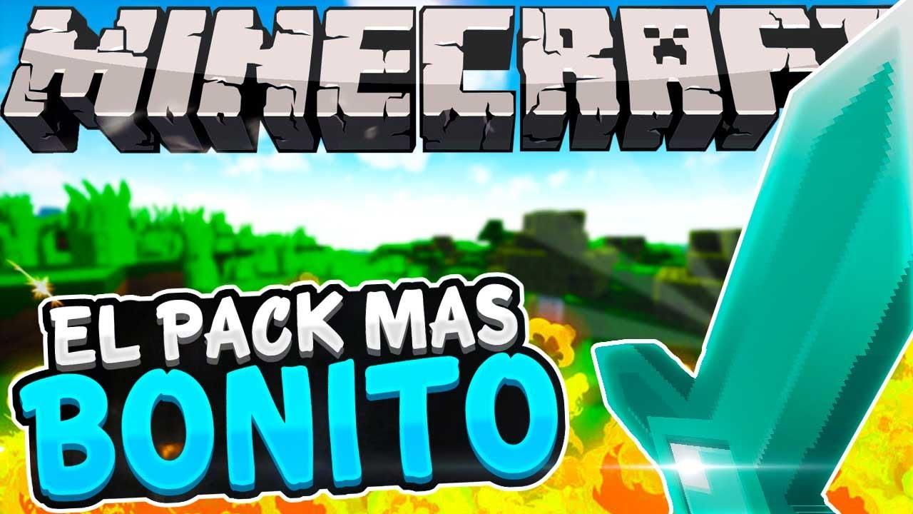 EL TEXTURE PACK MÀS BONITO DE MINECRAFT - YouTube