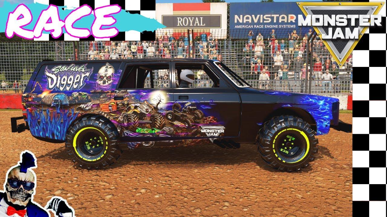 Monster Jam Monster Trucks Video Game Crash Racing 2020