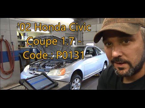Honda Civic P0131 & 02 Sensor Diagnosis