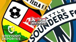 Santa Tecla 2-1 Seattle Sounders - RESUMEN + HIGHLIGHTS - CONCACAF Champions League