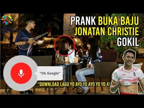 PRANK JOJO | OK GOOGLE Download lagu yo yo ayo yo ayo yo yo ayo - ASIAN GAMES 2018