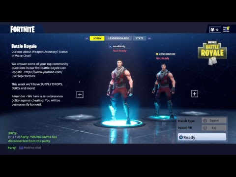 Fortnite BR - Gameplay with Awesomnezz Gaming and YOUNG-SAV14