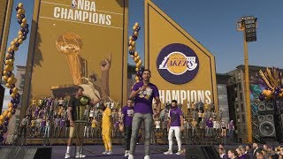 NBA 2K20 MyCareer - What Happens When You Win The NBA Championship! THE CHAMPIONSHIP PARADE IS LIT!