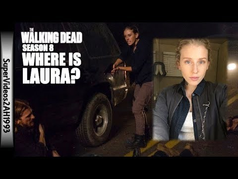 Where is Laura? (Will Dwight's Cover Be Blown?) || TWD Season 8