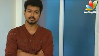 thalaivaa vijay clears air on films release and anti piracy interview speech hunger strike