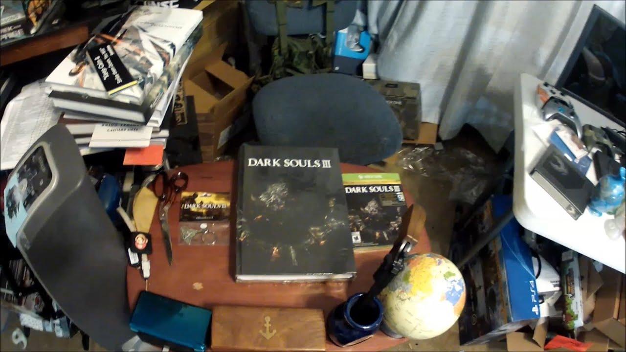 Der999 Unboxes Dark Souls III Day One EditionXbox OneDark Souls