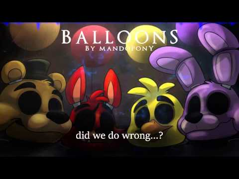 """[KARAOKE] """"Balloons"""" - A Five Night's at Freddy's 3 Song!"""