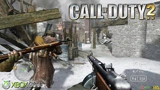 Call of Duty 2 - Gameplay Xbox 360 (Release Date 2005)