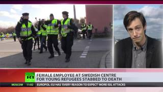 Young woman stabbed to death in underage refugee center in Sweden