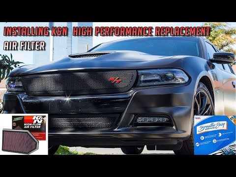 How to replace your Air filter and Cabin filter on a Dodge Charger