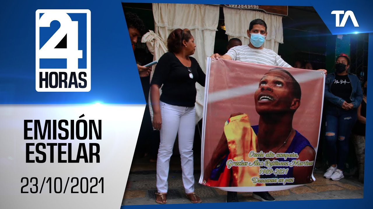 Download Noticias Ecuador: Noticiero 24 Horas 23/10/2021 (Emisión Estelar)