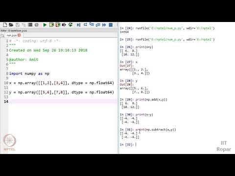 NPTEL : NOC:The Joy of Computing using Python (Computer
