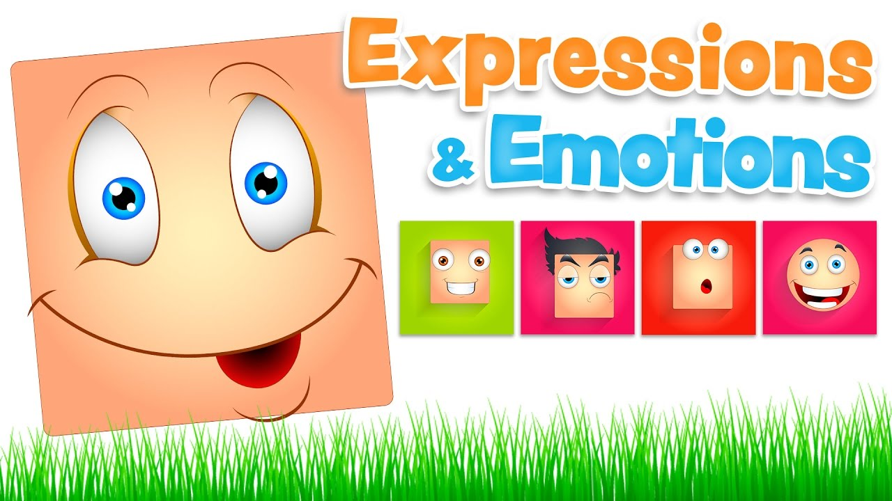 EXPRESSIONS and EMOTIONS in english and spanish for kids