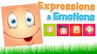 EXPRESIONES y EMOCIONES en inglés para niños (y español)