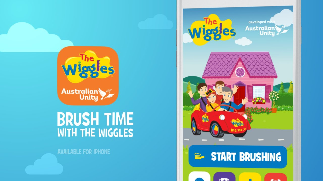 the wiggles tooth brushing app youtube
