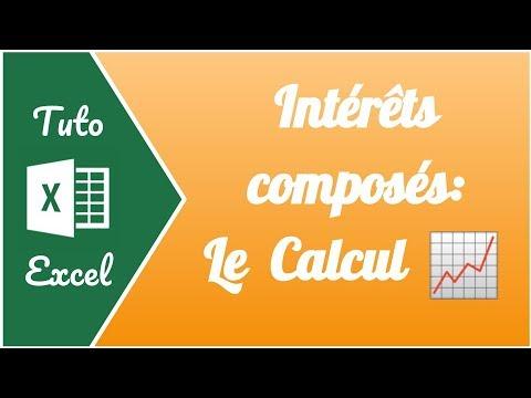 Comment Calculer Les Interets Composes Sur Un Capital Avec Excel