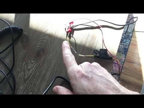 JC100 Dash Cam Test Wiring And T-mobile Service