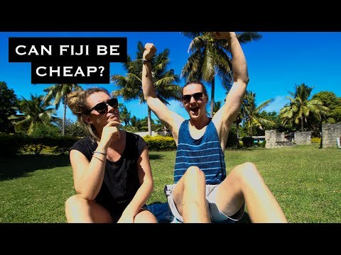 CAN YOU BACKPACK FIJI ON A BUDGET?! | 2 Islands, 5 Days - Vlog #23