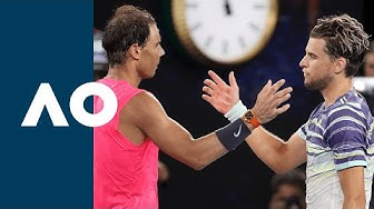 Rafael Nadal vs Dominic Thiem - Extended Highlights (QF) | Australian Open 2020