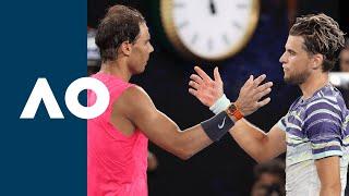 Rafael Nadal Vs Dominic Thiem - Extended Highlights  Qf  | Australian Open 2020