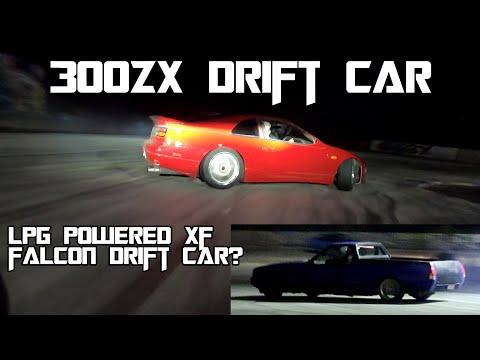Strange Drift Cars ..300zx + LPG XF Ute