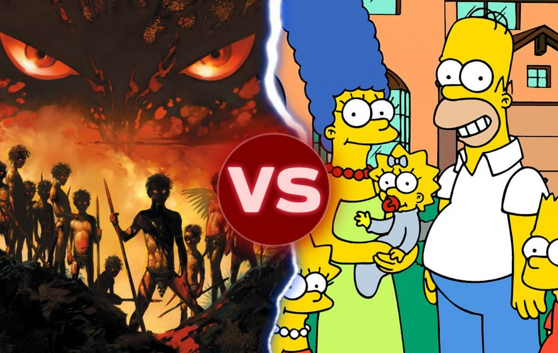 lord of the flies vs the simpsons das bus what s the lord of the flies vs the simpsons das bus what s the difference