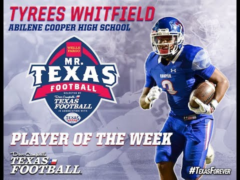 Announcing the Week 3 Mr. Texas Football Player of the Week