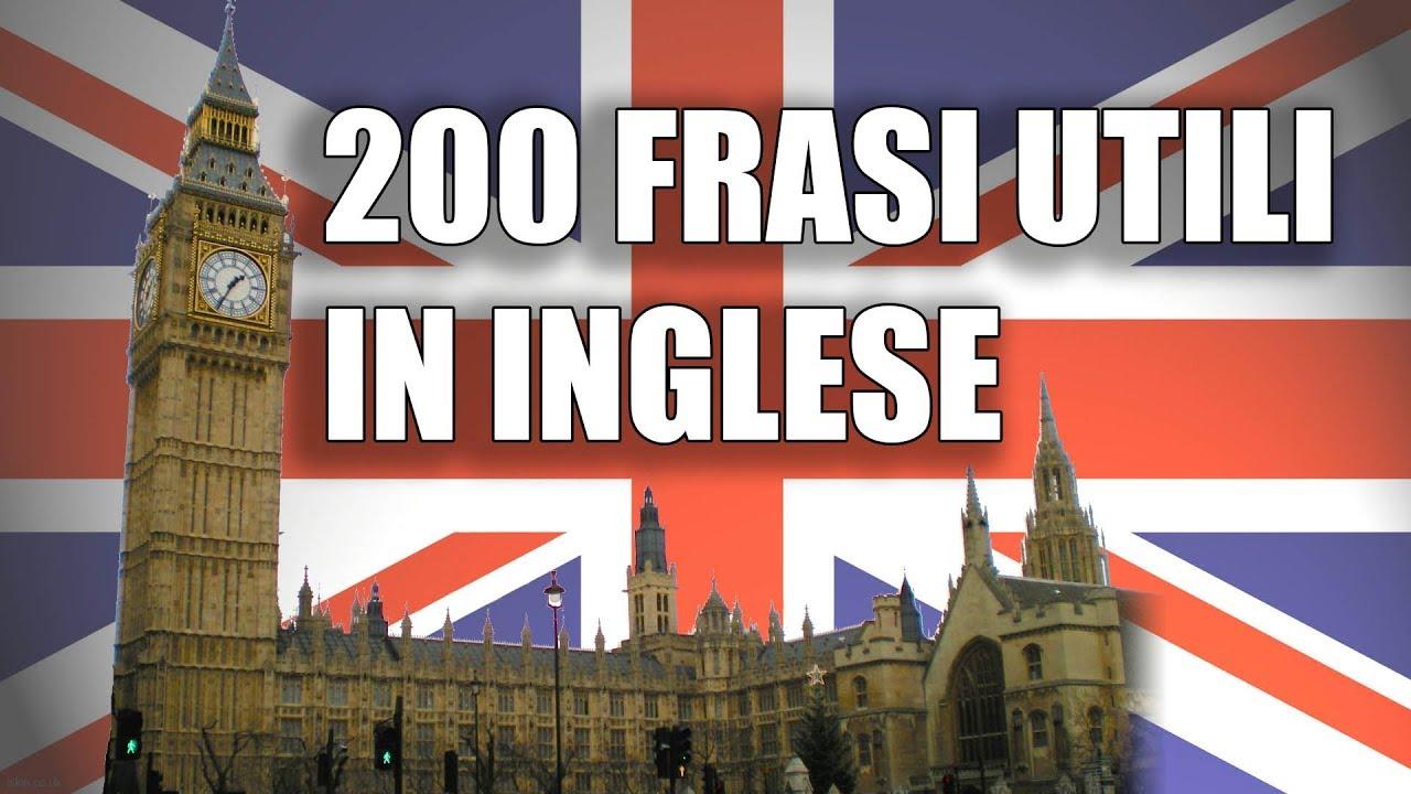 200 Frasi In Inglese Per Principianti Con Traduzione In Italiano