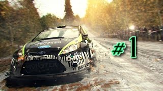 DiRT 3 MP #1 Suomi | Ralli EK 1-5