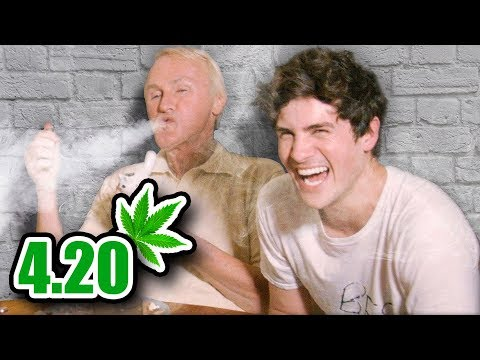 I Smoke Weed With Old People 4.20 Questions